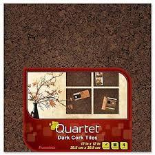 quartet cork tiles 12 inch x 12 inch frameless 4 pack