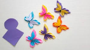 How To Make Paper Butterflies In Easy Wa 1 Week Ago
