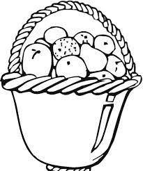 Fruit Basket Coloring Pages Print