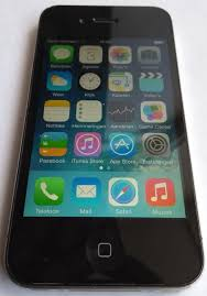 Apple iPhone 4s Black 16GB model A1332 boxed with original