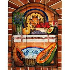 mexican tile murals tagged style hand painted mexican tile