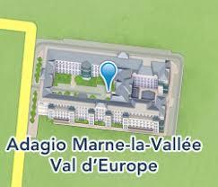 adagio marne la vallée val d europe hôtels disneyland