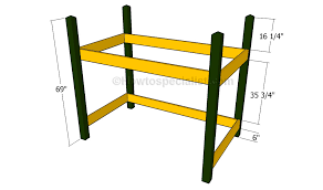 free loft bed plans howtospecialist how to build step by step