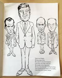 Mort Druckers JFK Coloring Book Spent 14 Weeks At The Top Of New York Times Bestseller List In 1962