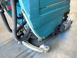 Tennant Floor Scrubber T3 by Sold Tennant 5400 Walk Behind Cylindrical Floor Scrubber 24v