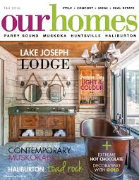 100 Ca Home And Design Magazine Press Coverage True North Log S Bracebridge Ontario