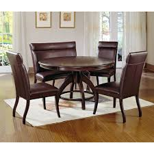 7 Piece Dining Room Set Walmart by Chair Dark Wood Dining Room Chairs Gorgeous Modern Table And Cream