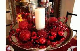 Centerpiece Ideas Delightful Decoration Dining Room Table Christmas Freyalados Decor YouTube