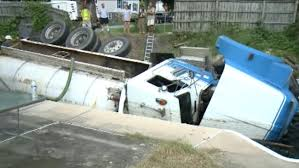 Septic Truck Plunges Into Backyard Pool In Lancaster County | 6abc.com