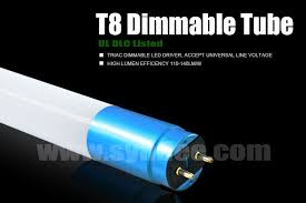 t8 external driver dimmable light glass led l t8