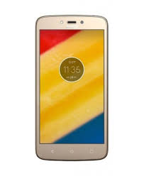 Lenovo Moto C 16GB Phone Gold