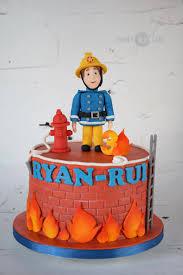 fireman sam cake fireman sam cake firefighter birthday