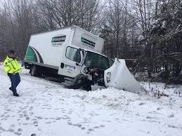 100 Box Truck Rentals Oakland Man Dies After Crash During Snowstorm In Liberty
