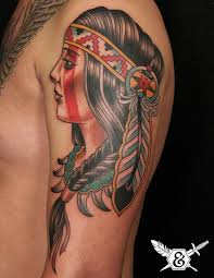 Mexican American Tattoo On Shoulder