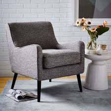 West Elm Everett Chair Leather by Book Nook Armchair Book Nooks Nook And Armchairs