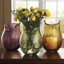 Owl Vases Orvis On Kitchen DecorVintage