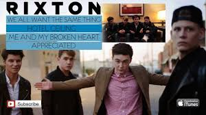 rixton me and my broken heart ep sler youtube