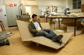 canap pliable sofa prototype de canapé pliable en bois