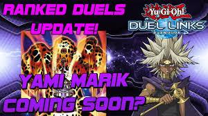 Yami Marik Deck Battle City by July Updates For Duel Links Yami Marik Coming Soon Ranked Duel