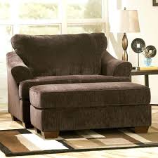 Oversized Recliner Chairs fy Chair And Ottoman Reading Blue
