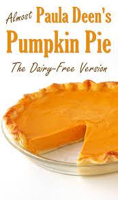 Pumpkin Cake Paula Deen by Almost Paula Deen U0027s Pumpkin Pie The Dairy Free Recipe