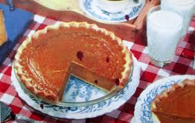 Best Pumpkin Pie With Molasses by The Literate Quilter