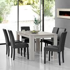 en casa essgruppe 7 tlg esstisch mit 6 stühlen forssa 140x90cm küchentisch mit 6x polsterstühlen kaufen otto