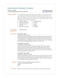 Cv Examples Uk Retail 12