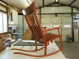 Sam Maloof Rocking Chair Class by Rock N U0027 Chairmen U2013 Charles Brock Chairmaker