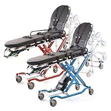 Ferno Stair Chair Instructions by Powerflexx Power Cot With Universal Side Arm Rescue Red Bound