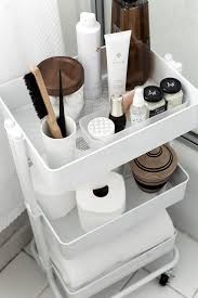 how to organize and style your home with a rolling cart
