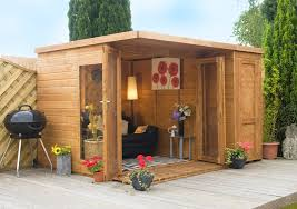 100 Modern Summer House Warm Nuance Of The Garden Shed That Has Red And