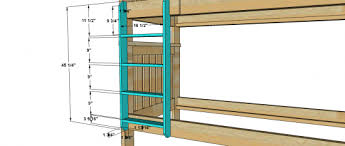 28 plans for bunk bed ladder free woodworking plans to