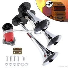 12v / 24v 110 135db Super Loud Triple Tone Air Horn Set Trumpet ... 12v Loud Horn Car Van Truck 7 Sound Tone Speaker With Pa System Mic Train Air Dual Trumpet Very 12v 25l Tank Complete Kit Auto Accsories Headlight Bulbs Gifts Single Siren Snail Magic 8 Sounds Digital Electric Cheap Find Deals On Line At Alibacom Super Wcompressor 135db Universal High Quality Durable Set How To Make Louder Chevy Horns Sound Effect Youtube 5 Sounds 80w For H End 842017 115 Pm Zone Tech