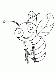 Lovely Bumblebee Coloring Pages 15 In Gallery Ideas With