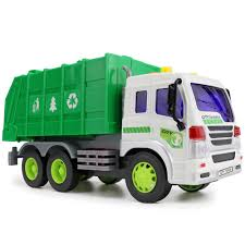 Kids Truck Car Model Toy Simulation Engineering Vehicles Garbage ...