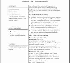 Resume Examples For Administrative Assistant Luxury Print Executivesume Template Word Templates Free Samples