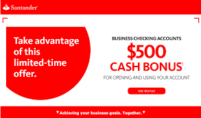 $125-$500 Santander Checking, Savings, Business Promotions Bank Account Bonuses Promotions October 2019 Chase 500 Coupon For Checking Savings Business Accounts Ink Pferred Referabusiness Chasecom Success Big With Airbnb Experiences Deals We Like Upgrade To Private Client Get 1250 Bonus Targeted Amazoncom 300 Checking200 Thomas Land Magical Christmas Promotional Code Bass Pro How Open A Gobankingrates New Saving Account Coupon E Collegetotalpmiersapphire Capital 200 And Personalbusiness