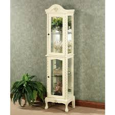 winchell curio cabinet ivory design ideas wall