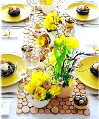 Cool Easter Table Decoration Setting Up Ideas Good Cheap Decorations Uk