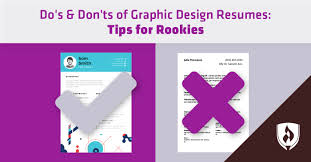 Do's & Don'ts Of Graphic Design Resumes: Tips For Rookies ... How To Write A Resume 2019 Beginners Guide Novorsum Ebook Descgar Job Forums Valerejobscom 1 Basic Resume Dos And Donts Pdf Formats And Free Templates Tutorialbrain Build A Life Not Albatrsdemos The Dos Donts Writing Rockin Infographic Top Writing Tips Get An Interview Call Anatomy Of How Code Uerstand Visually Why You Should Go To Realty Executives Mi Invoice Format Donts Services For Senior Cv Guides Student Affairs