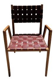 1950s Mel Smilow Woven Leather Dining Room Chair   Chairish Ding Room Chair Soho Lowest Price Of Netherlands Wiegers Xl Leather Cognac Diamond Shipped Within 24 Hours Stools Upholstered Chairs Black Sold Set 4 Red Or Game Table Signed Urban Style With Solid Wood Legs 1950s Mel Smilow Woven Chairish Malin American Walnut Fabric Seat New Offer And Comfort White With Cool Design High Side Fniture Thomasville 13 Best In 2018 Arm Blue Round Back