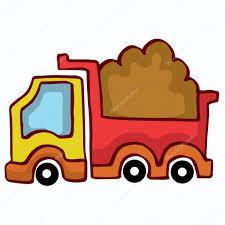 100 Kids Dump Truck Vector Cartoon Design For Kids Stock Vector