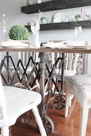 100 Repurposed Table And Chairs Vintage Casket Carrier To A Dining Room Dust To