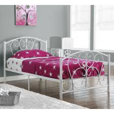Twin White Bed by White Metal Twin Bed Frame Paint Chic White Metal Twin Bed Frame