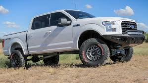 2015 - 2017 Ford F-150 HoneyBadger Winch Front Bumper: ADD Offroad ... Ford Previews A Pair Of 2015 F150s Modded For Sema F150 Review El Lobo Lowrider Beats Out Chevy Colorado For North American Truck Of The Article Auburn Scarff First Look Trend Pickup Trucks Customs 2014 Youtube 35l Ecoboost 4x4 Test Car And Driver File2015 Truckjpg Wikimedia Commons Vs Platinum Is This Perfection Ihab Drives Resigned Previewed By Atlas Concept Jd