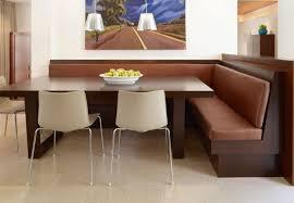 Kitchen Utensils Modern Built In Soft Brown Corner Bench Long L Shape