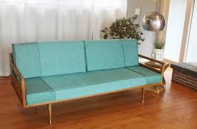 Danish Modern Sofa Sleeper by Sofas Mid Century Wood Frame Sofa Mid Century Sofas Mcm Couch