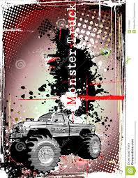 Monster Truck Frame 2 Stock Illustration. Illustration Of Biggest ...