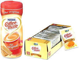 Coffee Mate Non Dairy Creamer Powdered Creamers Free